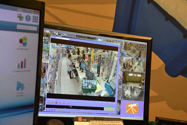 camera de vidéosurveillance bressuire