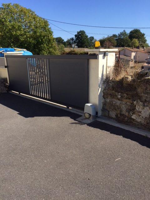 installation de motorisation de portail dans les deux sèvres